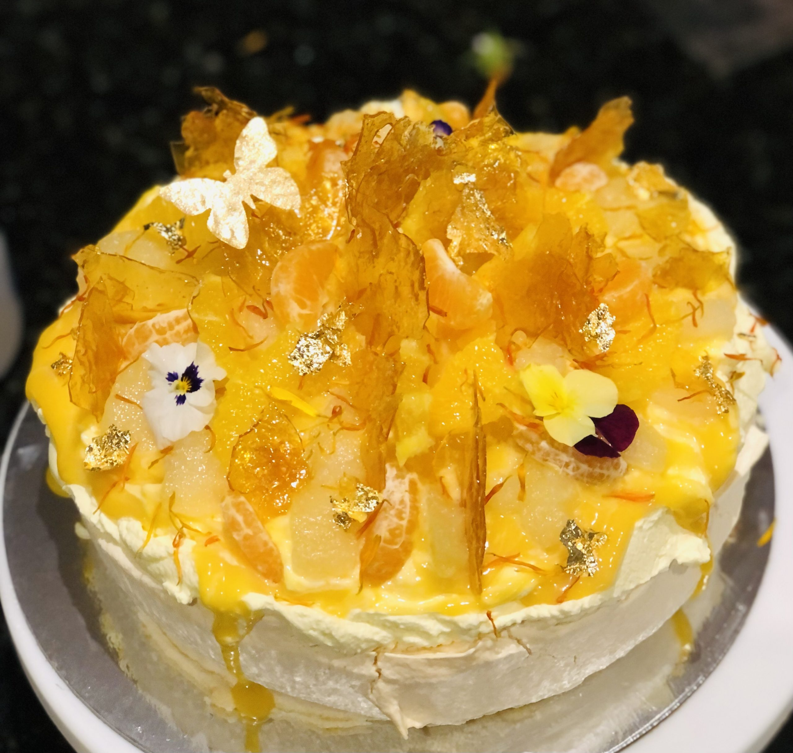 lemon curd, citrus and toffee